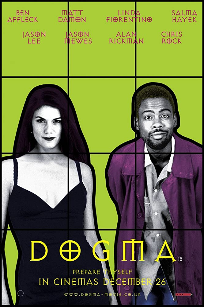 Linda Fiorentino and Chris Rock in Dogma (1999)