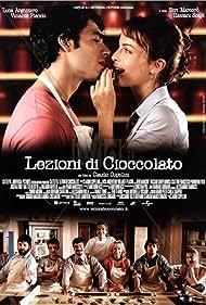 Neri Marcorè, Francesco Pannofino, Violante Placido, Monica Scattini, and Luca Argentero in Lezioni di cioccolato (2007)