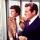 Patrick Macnee and Gareth Hunt in The New Avengers (1976)