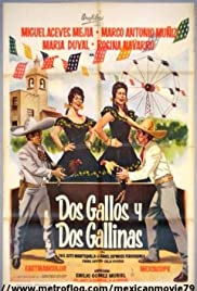 Dos gallos y dos gallinas Poster