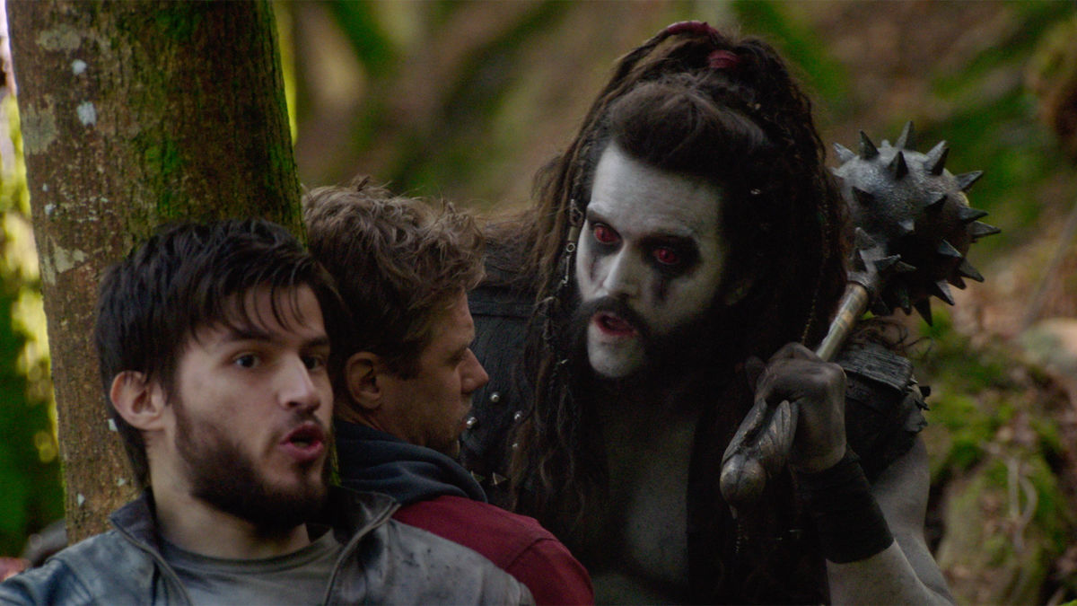 Shaun Sipos, Emmett J Scanlan, and Cameron Cuffe in Krypton (2018)