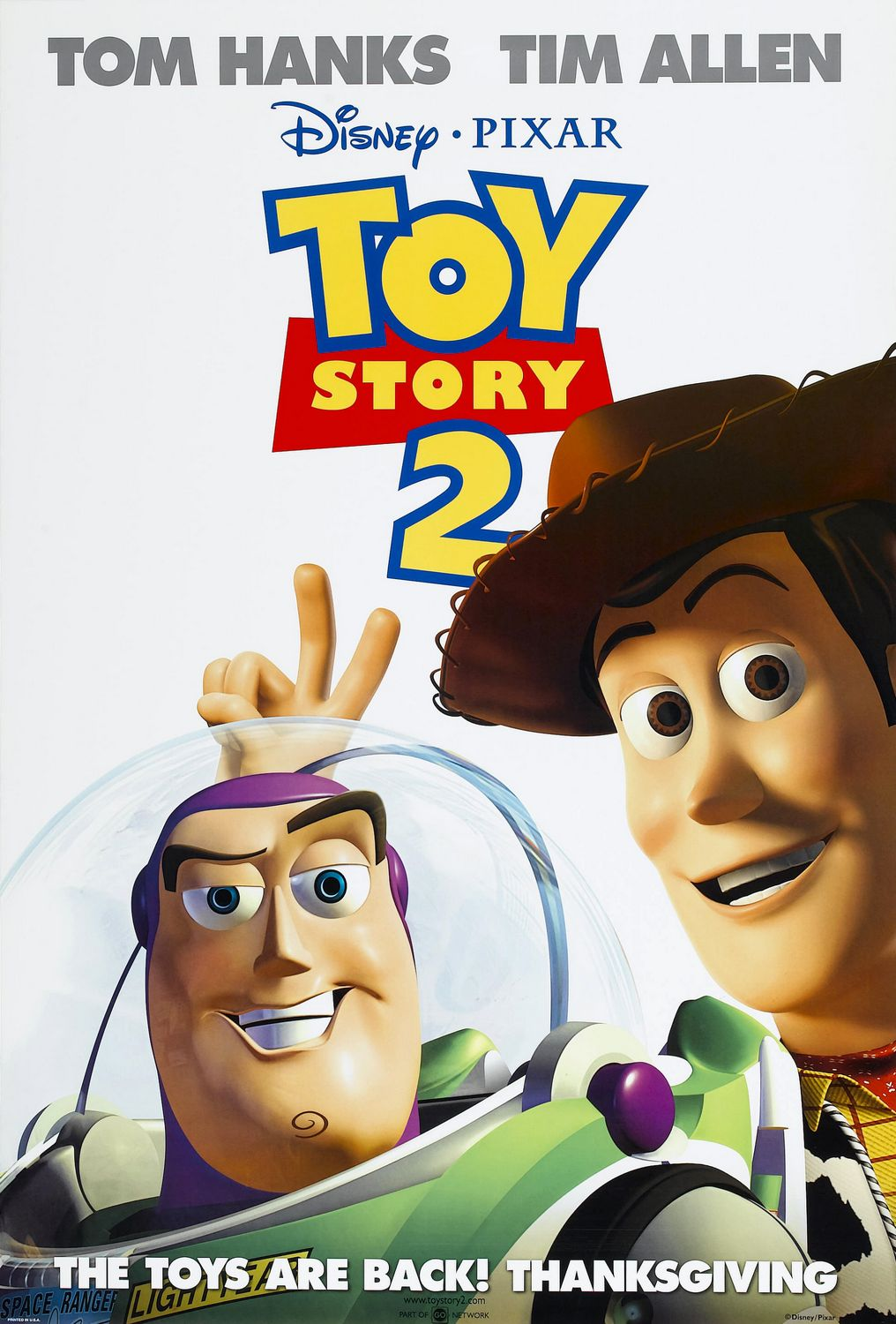 Toy Story 2 (1999) BluRay 480p, 720p & 1080p