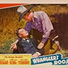 Ray Corrigan and Forrest Taylor in Wrangler's Roost (1941)