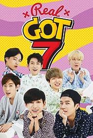 J.B., Jin-young Park, Mark Tuan, Jackson Wang, Youngjae, BamBam, and Yu Gyeom Kim in Real GOT7 (2014)