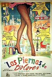 Die Beine von Dolores Poster