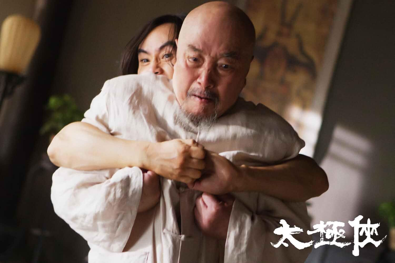 Keanu Reeves and Hai Yu in Man of Tai Chi (2013)