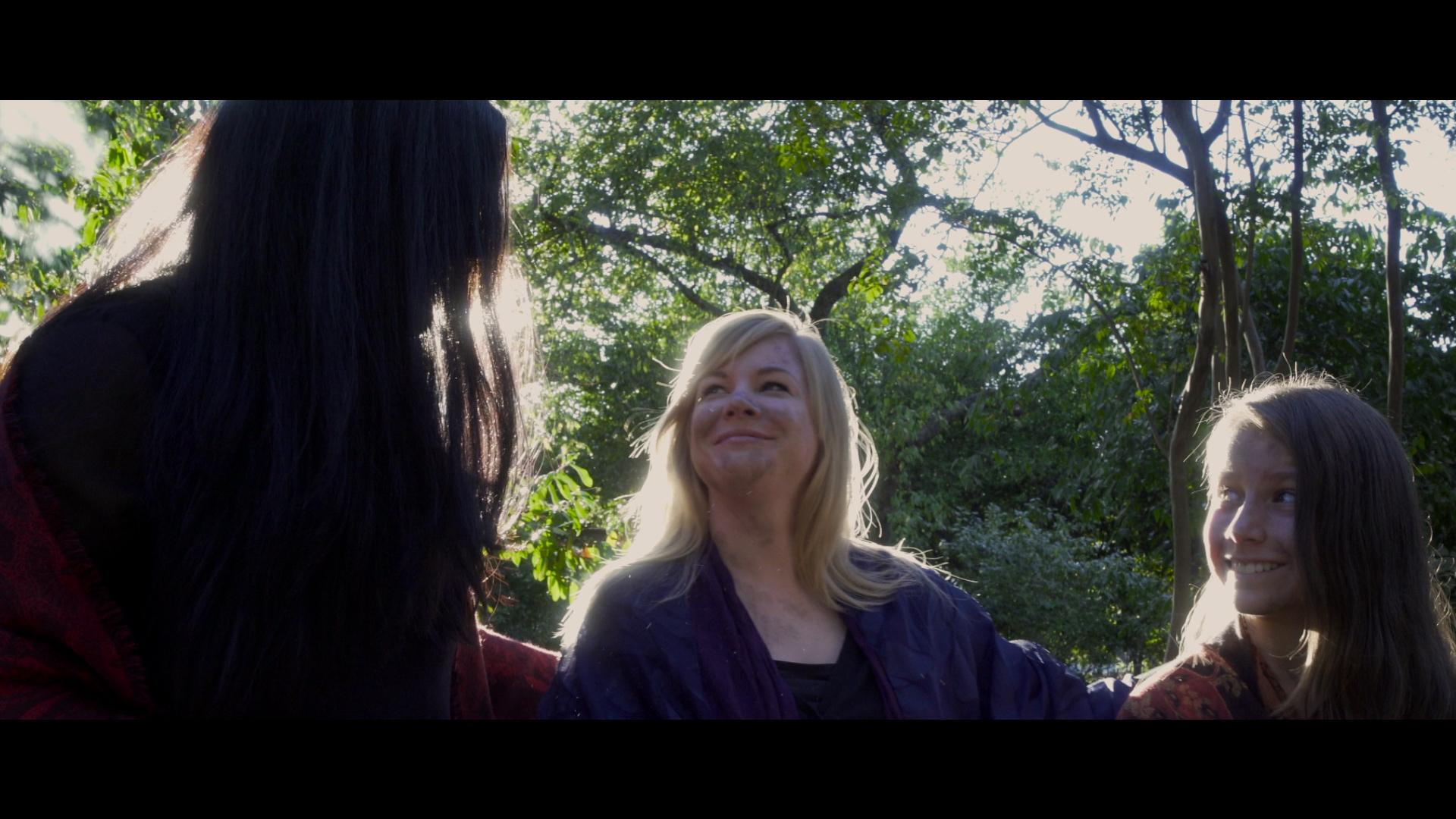 Hannah Pniewski, Ashley Payne, and Lyndsey Davis in The Refuge (2016)