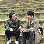 Satoshi Tsumabuki and Tomoya Nakamura in Gukôroku (2016)