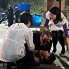 Bobbie Au-Yeung, Raymond Lam, Tavia Yeung, and Sire Ma in Men with No Shadows (2011)