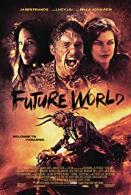 Milla Jovovich, Lucy Liu, and James Franco in Future World (2018)