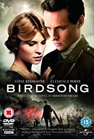 Clémence Poésy and Eddie Redmayne in Birdsong (2012)