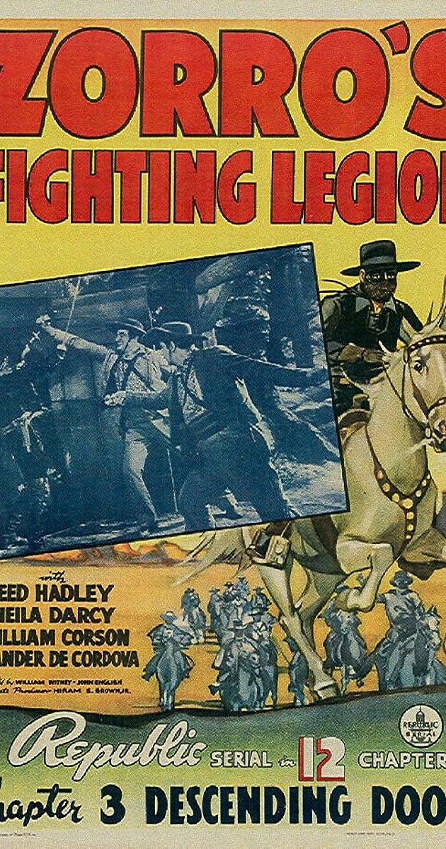 Zorros Fighting Legion 1939 Imdb