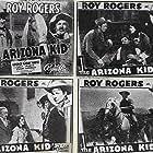 Roy Rogers, Earl Dwire, Stuart Hamblen, George 'Gabby' Hayes, Sally March, and Dorothy Sebastian in The Arizona Kid (1939)