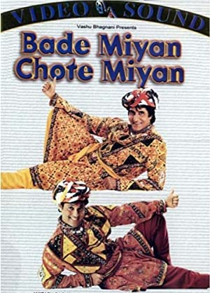 Amitabh Bachchan Bade Miyan Chote Miyan Movie