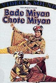 Bade Miyan Chote Miyan(1998) Poster - Movie Forum, Cast, Reviews