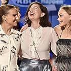 Natalie Portman, Rebecca Zlotowski, and Lily-Rose Depp at an event for Planetarium (2016)