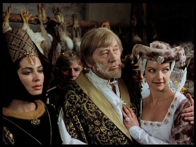 Zuzana Kocúriková, Jozef Kroner, Karol Machata, and Dietlinde Turban in Sol nad zlato (1983)