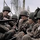Mark Huberman, James McAvoy, Peter McCabe, Douglas Spain, and Craig Heaney in Band of Brothers (2001)