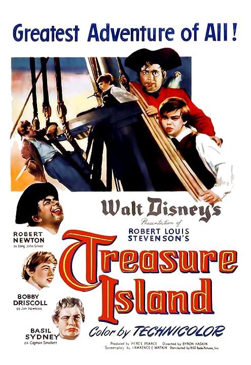 Treasure Island (1950) Hindi Dubbed