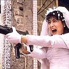 Cynthia Khan in Hong fen zhi zun (1990)