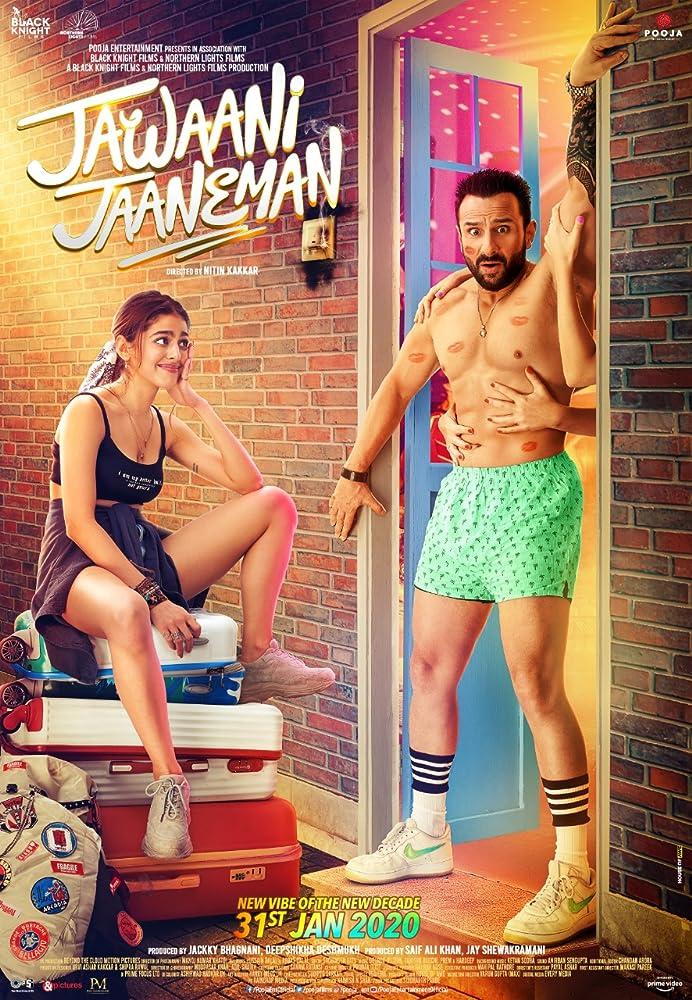 Jawaani Jaaneman (2020) V2 Hindi 480p Pre-DVD 700MB Best Print