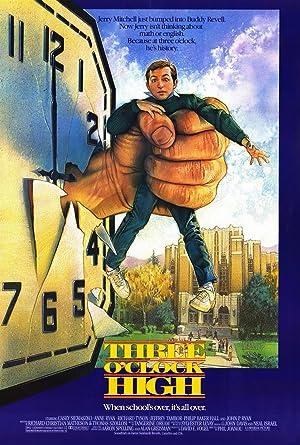 Three O'Clock High Poster Image