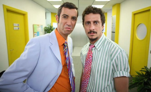 Luca Bizzarri and Paolo Kessisoglu in Camera Café (2003)