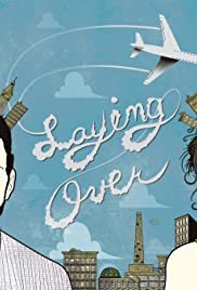 Laying Over Poster
