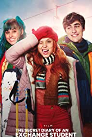 Larissa Manoela, Thati Lopes, and Bruno Montaleone in The Secret Diary of an Exchange Student (2021)