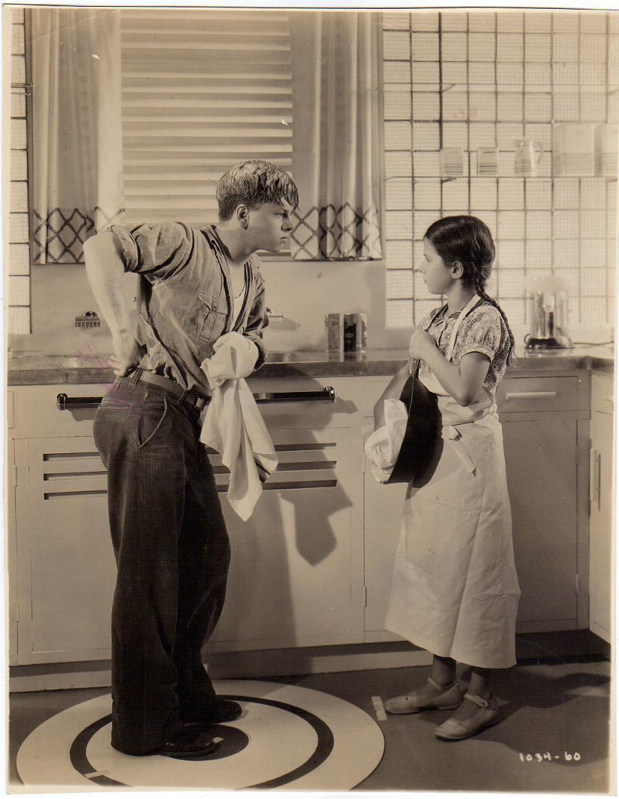Mickey Rooney and Virginia Weidler in Love Is a Headache (1938)