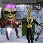 Charlie Adler and Troy Baker in Disney Infinity: Marvel Super Heroes (2014)