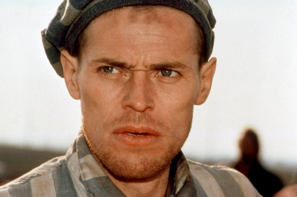 Willem Dafoe in Triumph of the Spirit (1989)