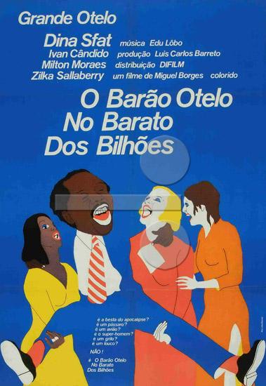 Resultado de imagen para O Barão Otelo no Barato dos Bilhões (1971)