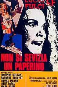Florinda Bolkan, Barbara Bouchet, Tomas Milian, and Marc Porel in Non si sevizia un paperino (1972)
