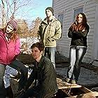 Michael Merchant, Kyrsten St. Pierre, Houston Baker, and Cassandra Hayes in Amityville Death House (2015)
