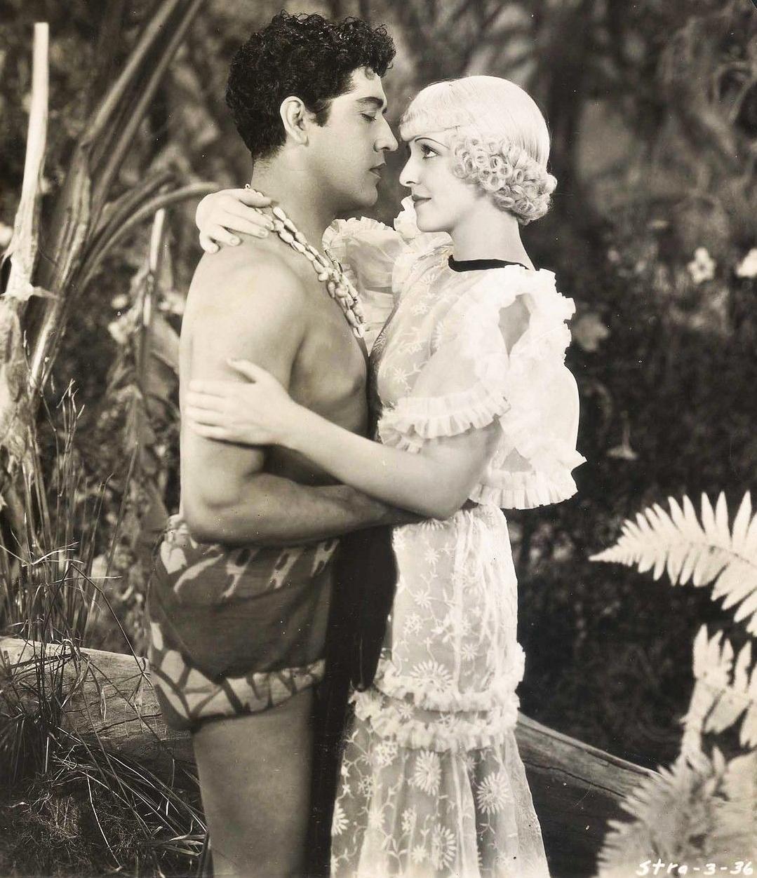 José Mojica and Conchita Montenegro in Melodía prohibida (1933)