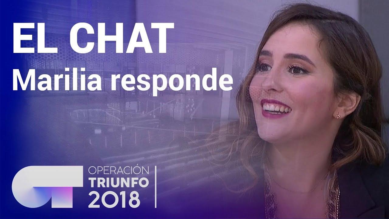 Marilia Monzón in El chat de OT (2017)