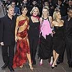 Tina Barrett, Jon Lee, Bradley McIntosh, Jo O'Meara, Hannah Spearritt, and Rachel Stevens at an event for S Club Seeing Double (2003)