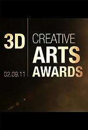 2011 3D Creative Arts Awards Poster