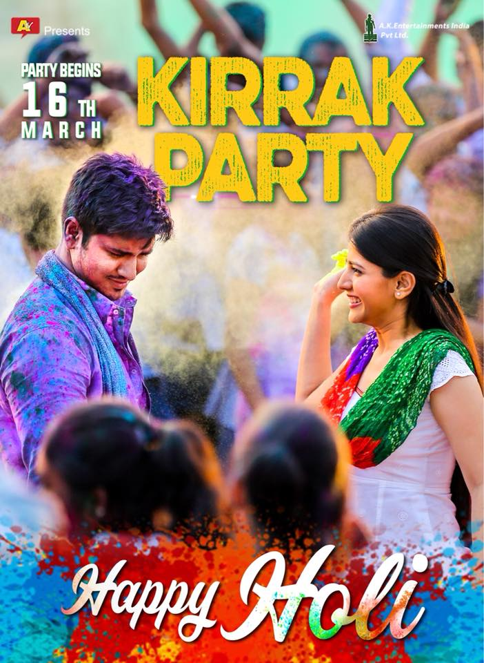Kirrak Party (2018) Dual Audio Hindi 450MB UNCUT HDRip 480p ESubs Free Download