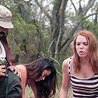 Kelsey Carlisle, Robert Alvarez, and Janine Cygan in Amazon Hot Box (2018)
