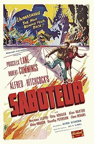 Saboteur Poster Image
