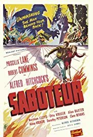 Saboteur (1942) Poster - Movie Forum, Cast, Reviews