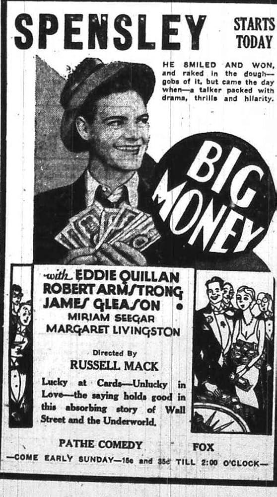 Eddie Quillan in Big Money (1930)