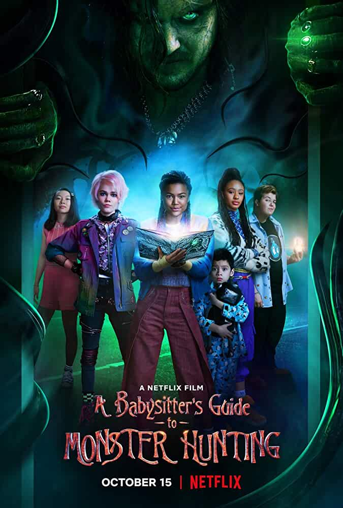 A Babysitter's Guide to Monster Hunting (2020) Hindi Dubbed