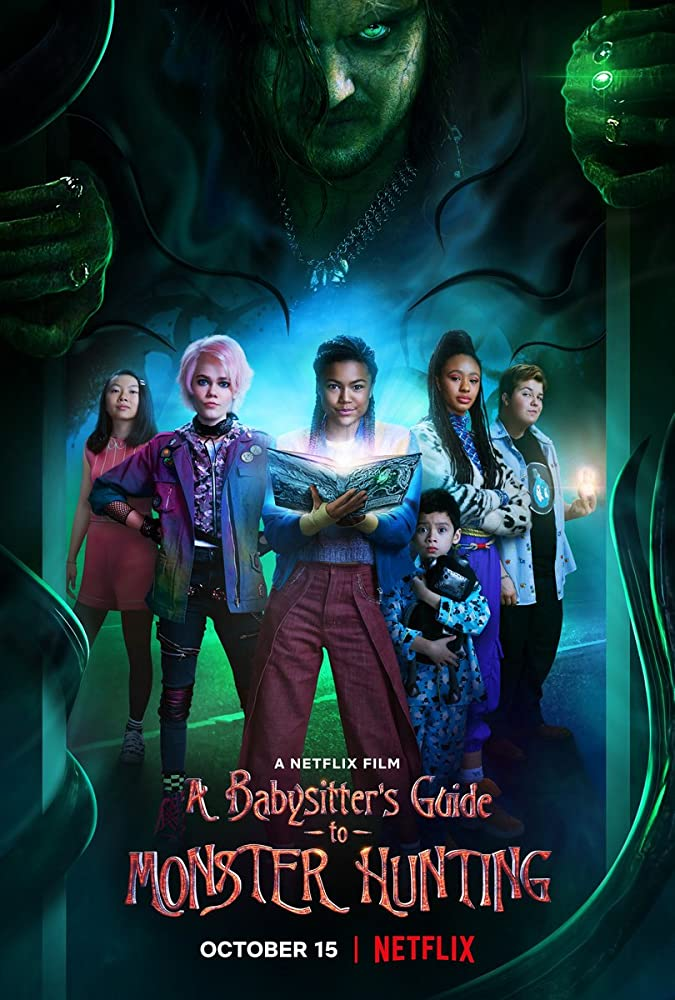 A Babysitter's Guide to Monster Hunting (2020) NF WebRip Hindi English ESub AAC