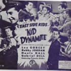 Pamela Blake, Gabriel Dell, David Durand, Kay Marvis, Leo Gorcey, Huntz Hall, Bobby Jordan, and Ray Miller in Kid Dynamite (1943)