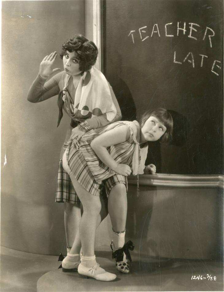 Mitzi Green and Helen Kane in Paramount on Parade (1930)