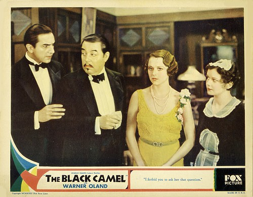 Bela Lugosi, Violet Dunn, Sally Eilers, and Warner Oland in The Black Camel (1931)