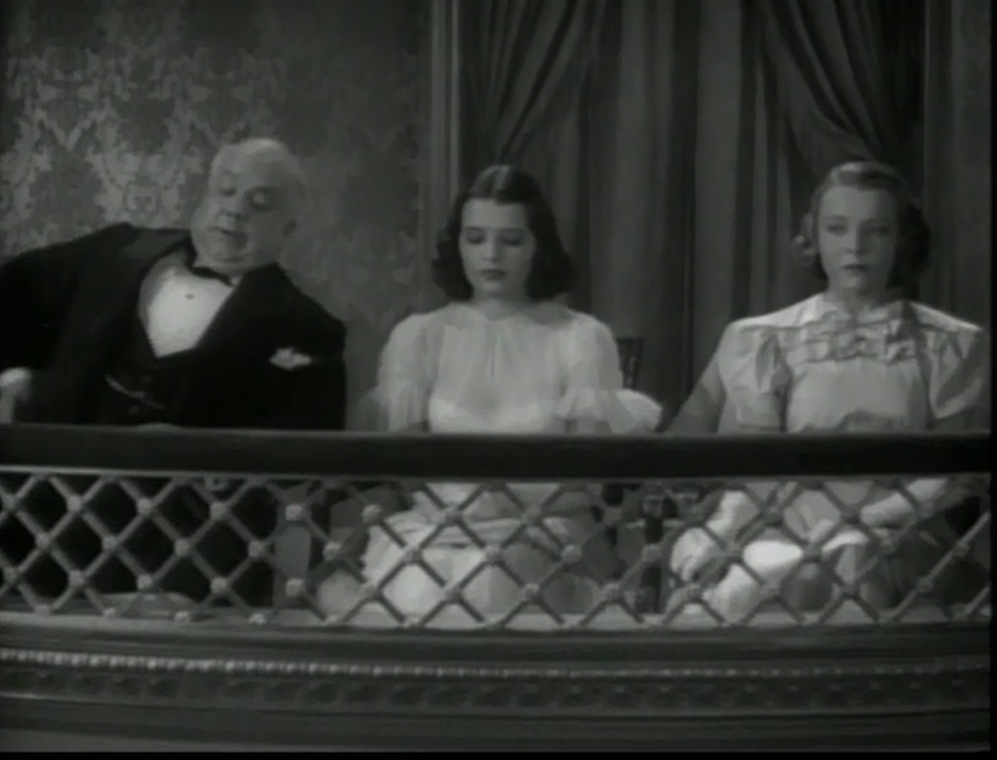 Jane Bryan, Mary Maguire, and Ferdinand Munier in Confession (1937)